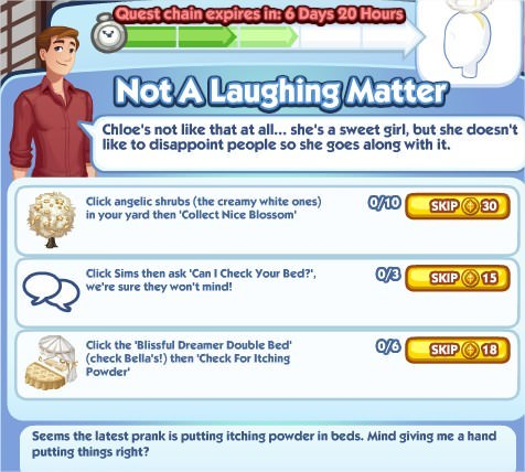 The Sims Social, Not A Laughing Matter 3