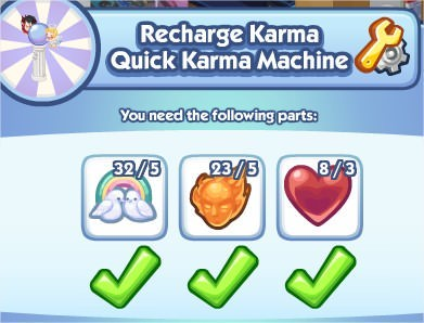 The Sims Social, Quick Karma Machine