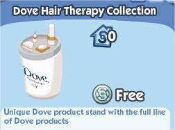The Sims Social, Dove Hair Therapy Collection