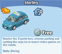 The Sims Social, Sterling