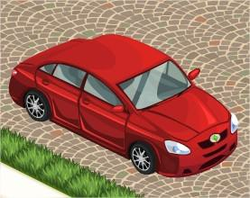 The Sims Social, Car (Red)