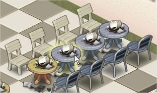 iLoveCoffee, 整理餐桌