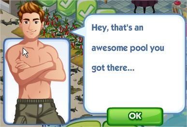 The Sims Social, Fantasy Pool