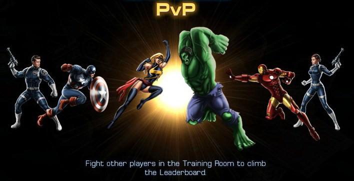 Marvel: Avengers Alliance, PVP