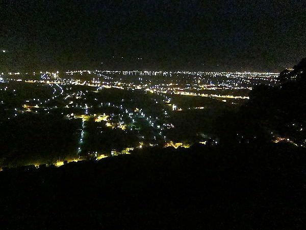 蘭陽平原夜景