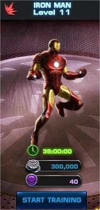 Marvel: Avengers Alliance, Hero