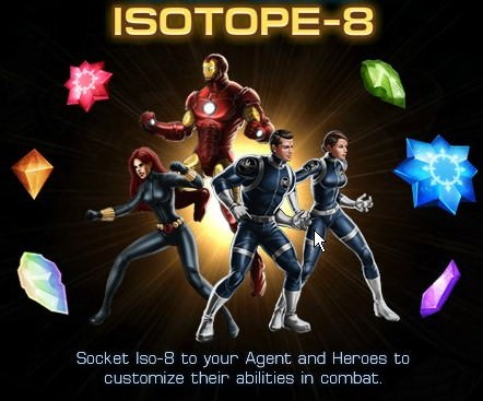 Marvel: Avengers Alliance, ISOTOPE-8