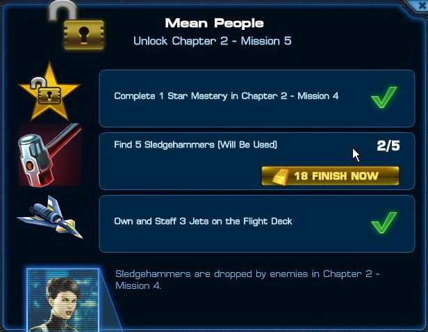 Marvel: Avengers Alliance, Mission