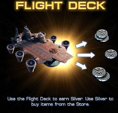 Marvel: Avengers Alliance, Flight Deck