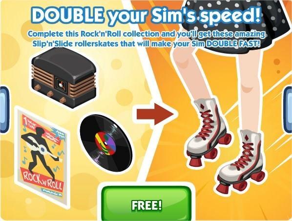 The Sims Social, Slip'n'Slide Skates