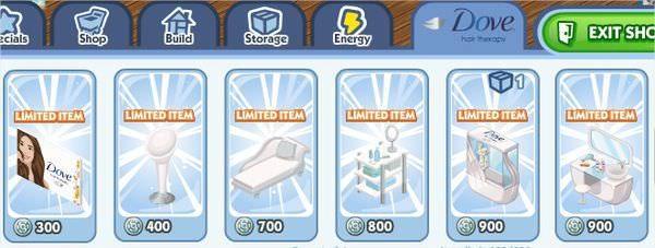 The Sims Social, Dove