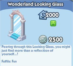 The Sims Social, Wonderland Looking Glass