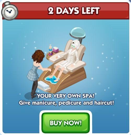 The Sims Social, Mani-Pedi and a Haircut!