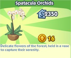 The Sims Social, Spatacula Orchids