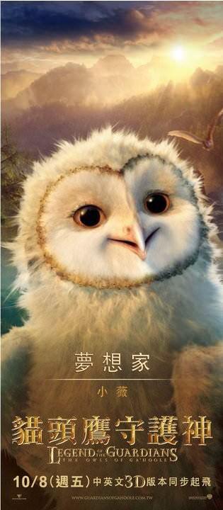 夢想家(小薇), 貓頭鷹守護神