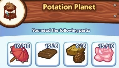 The Sims Social, Potation Planet