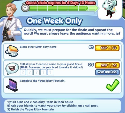 The Sims Social, One Week Only 7