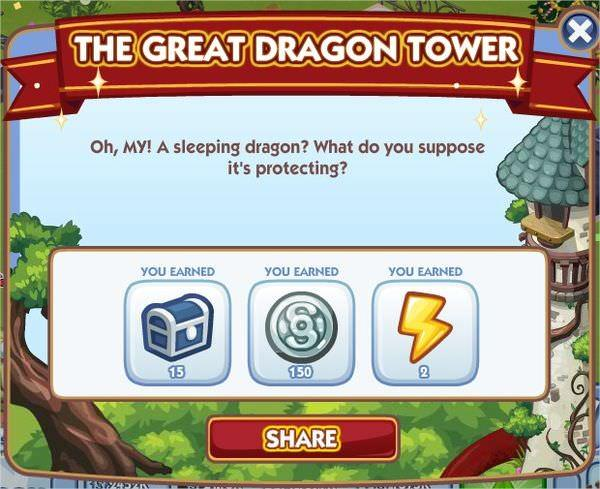 The Sims Social, The Great Dragon Tower