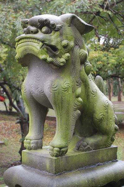 嘉義神社狛犬(高麗犬)