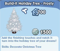Build-It Holiday Tree - Frosty