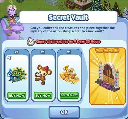 The Sims Social, Secret Vault