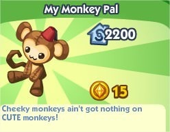 The Sims Social, My Monkey Pal