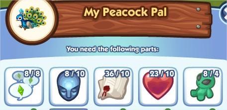 The Sims Social, My Peacock Pal