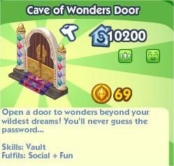 The Sims Social, Cave of Wonders Door