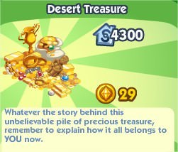 The Sims Social, Desert Treasure
