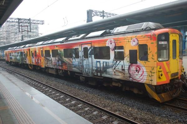 彩繪火車, 侯硐(貓村)