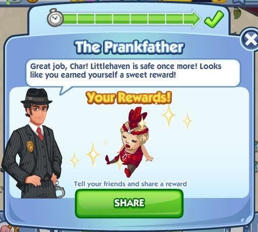 The Sims Social, My Sly Lula Pal
