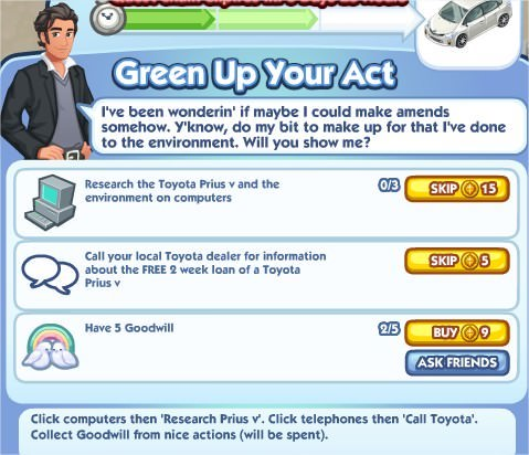 The Sims Social, Green Up Your Art 2