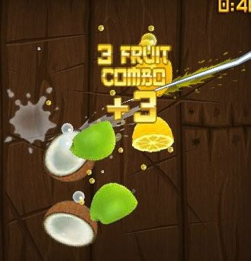 Facebook, Fruit Ninja Frenzy, Combo
