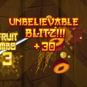 Facebook, Fruit Ninja Frenzy, Blitz Bonus