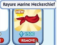 The Sims Social, Rayure Marine Neckerchief