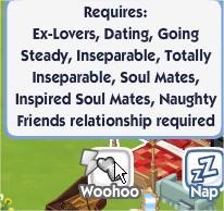 The Sims Social, Woohoo