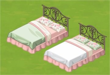 The Sims Social, Double Bed