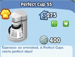 The Sims Social, Perfect Cup 55