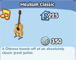 The Sims Social, Neukum Classic