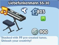 The Sims Social, Liebefunkenmann SS-30