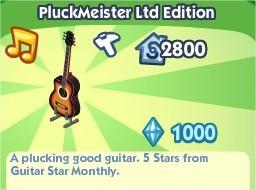 The Sims Social, PluckMeister Ltd Edition