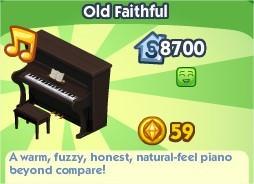 The Sims Social, Old Faithful