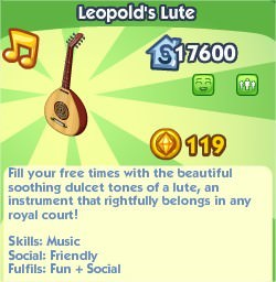 The Sims Social, Leopold