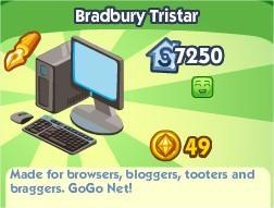 The Sims Social, Bradbury Tristar