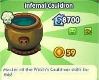 The Sims Social, Infernal Cauldron
