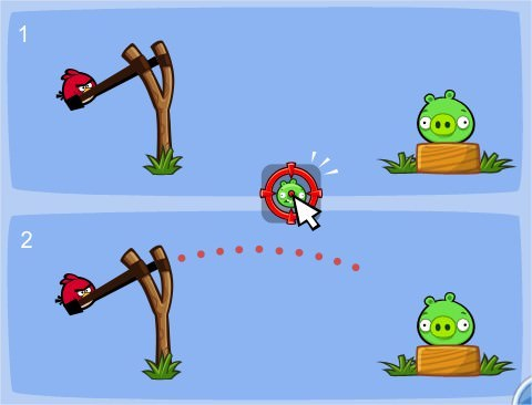 Angry Birds on Facebook, Sling Scope
