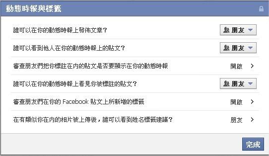 Facebook, 新版動態時報, 動態時報與標籤