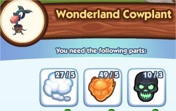 The Sims Social, Wonderland Cowplant