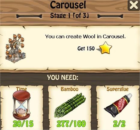 Zombie Island, Carousel