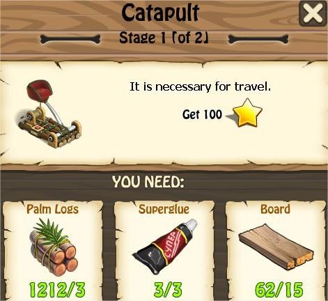 Zombie Island, Catapult